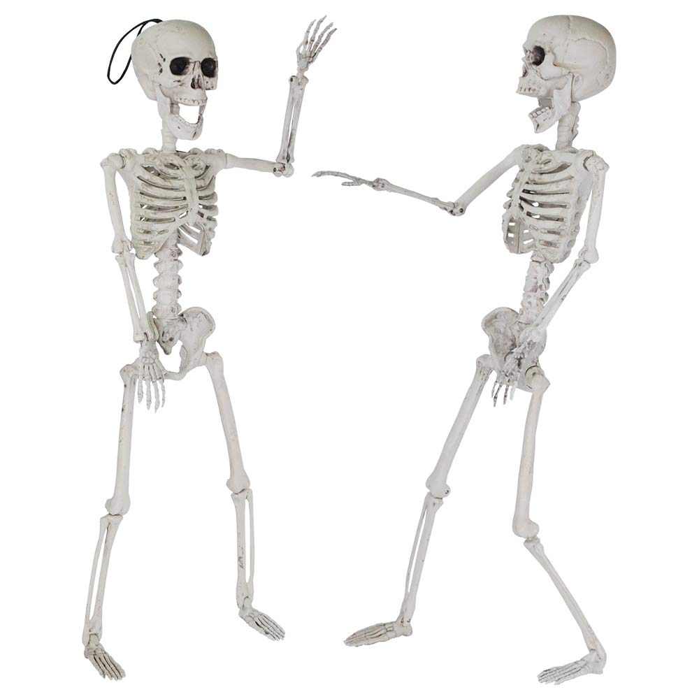 "24"" Pose-N-Stay Full Body Skeleton Plastic Bones"