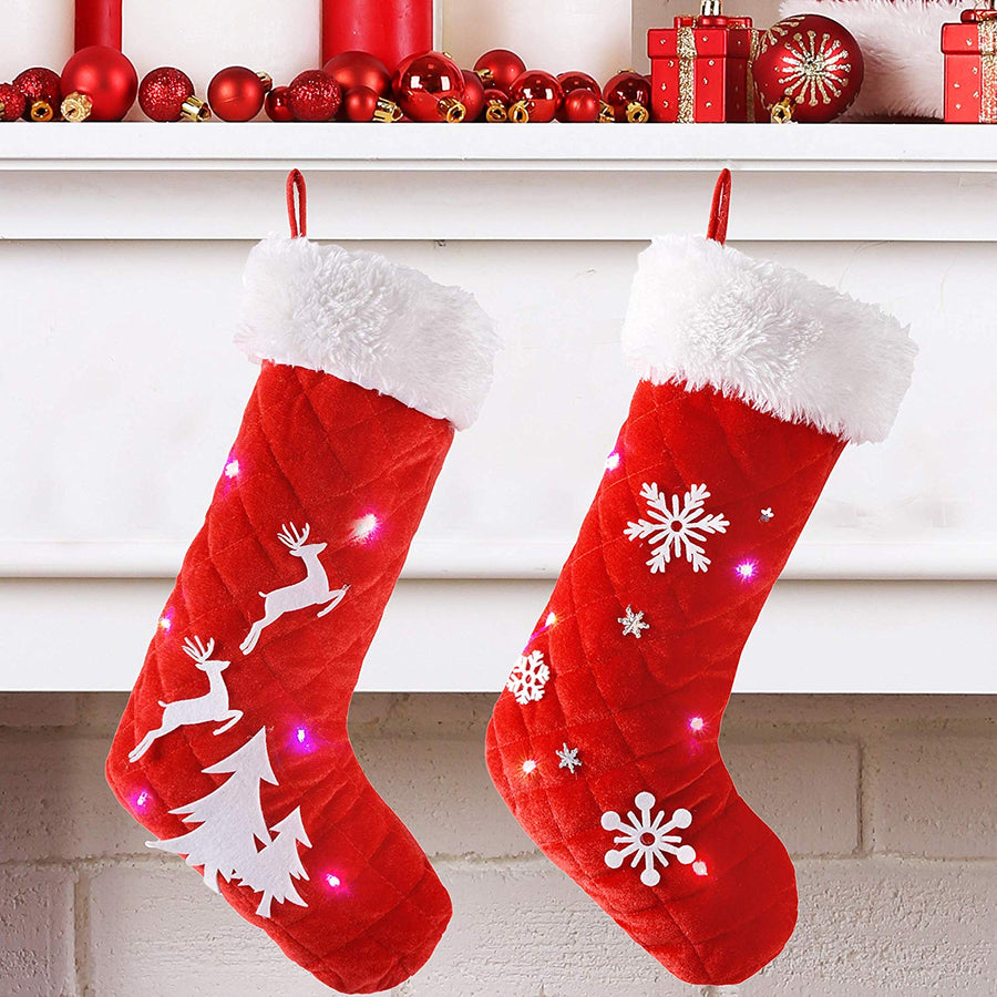 Light Up Christmas Stockings