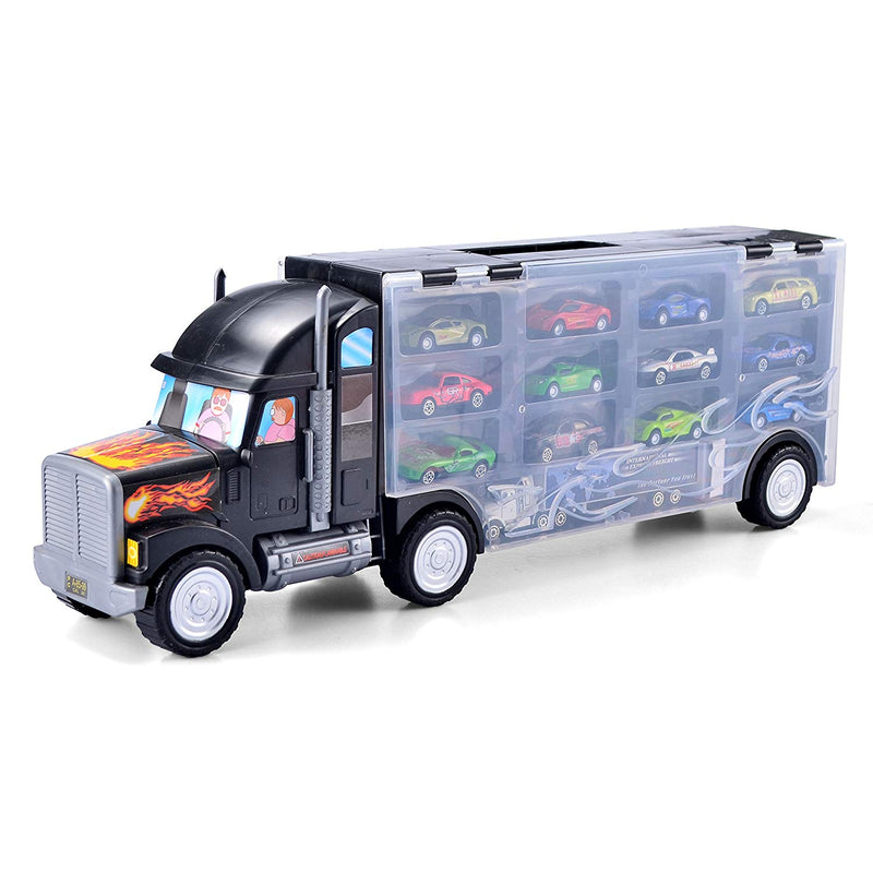 "22"" TRANSPORT CAR CARRIER TRUCK TOY"