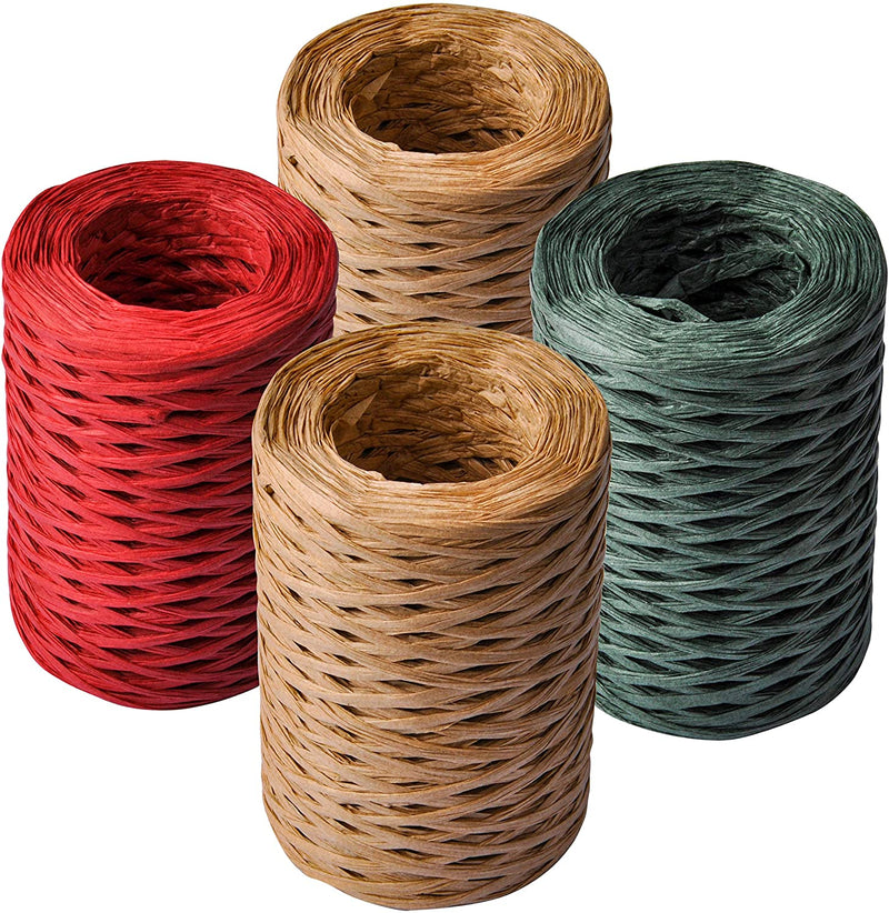 Raffia Ribbon for Christmas & Gift Wrapping