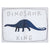Dinosaur Crossing Canvas Wall Decor - NovaandKnox.com