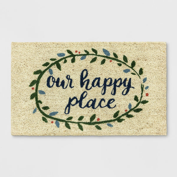 Our Happy Place Doormat - NovaandKnox.com