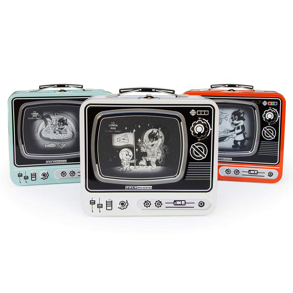 Retro Television TV Lunch Boxes - NovaandKnox.com