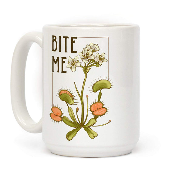 Bite Me Venus Fly Trap Coffee Mug - NovaandKnox.com