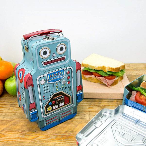 Robot Metal Lunch Box - NovaandKnox.com
