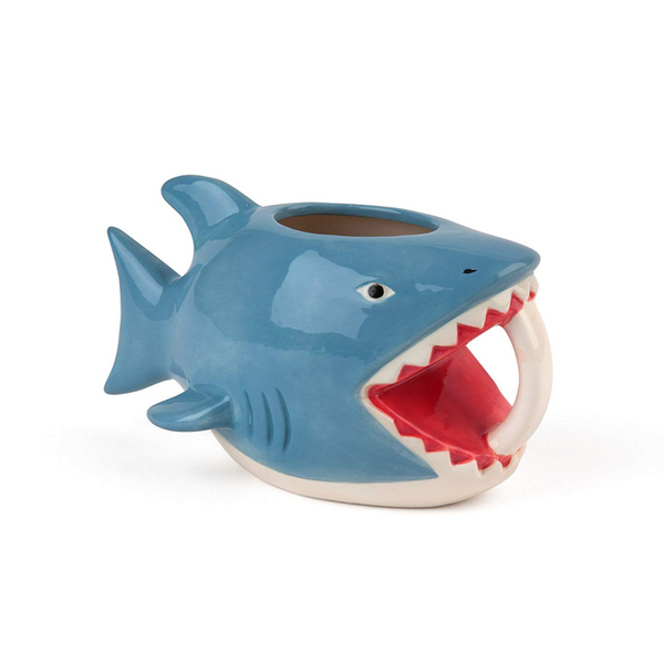 Shark Bite 16oz Coffee Mug - NovaandKnox.com