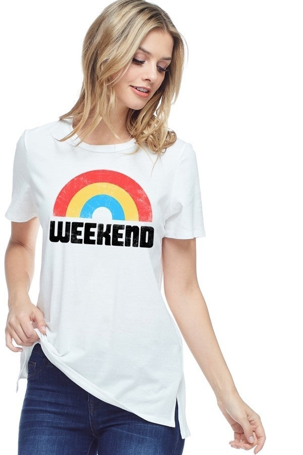 Welcome To The WEEKEND Graphic T-Shirt