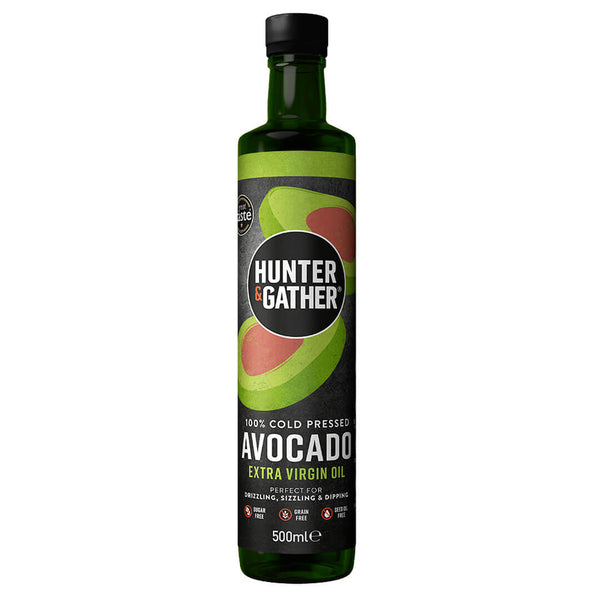 Hunter & Gather avocado olie 500 ml