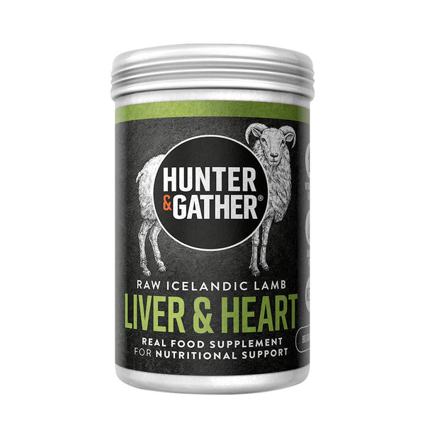 Hunter & Gather organ supplements liver & heart