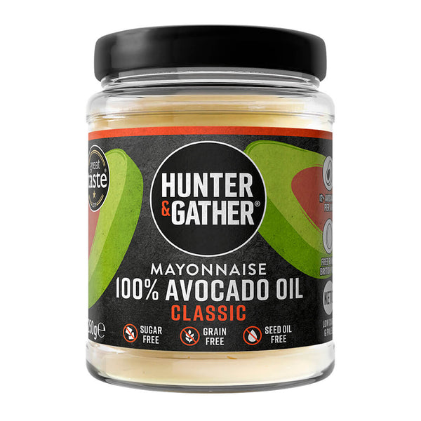 Hunter & Gather avocado mayonaise classic 250 gram