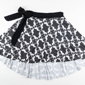 Mirror Horse Wrap Skirt