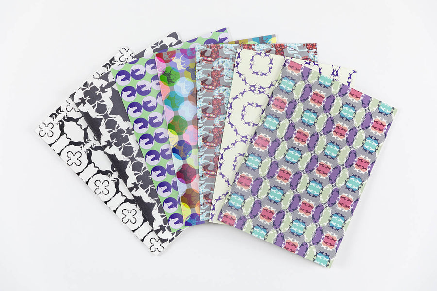 Mixed Pattern Notecards