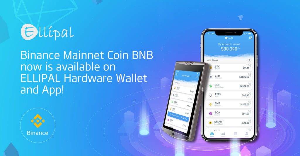Binance hardware wallet cold wallet ellipal