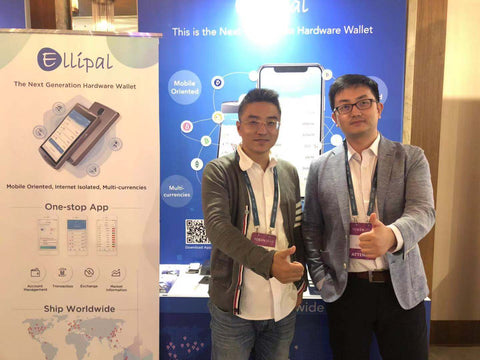 ELLIPAL Hardware wallet showing its coldwallet solution