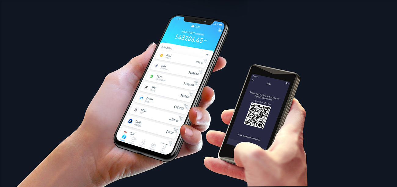 Best Cryptocurrency Hardware Wallet At Ellipal | Cold