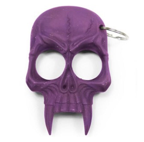 Purple Devilish Self Defense Key Chain