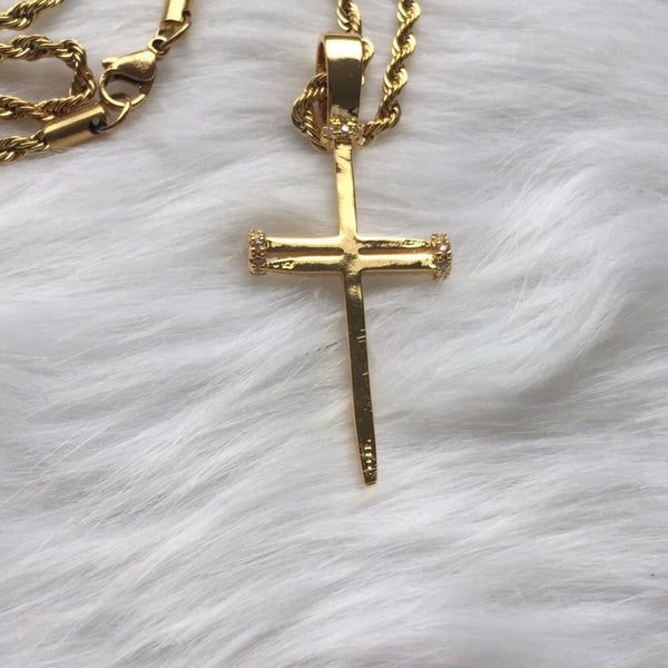 Unisex Cross Me necklace