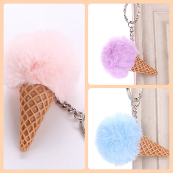Cotton Cone keychain