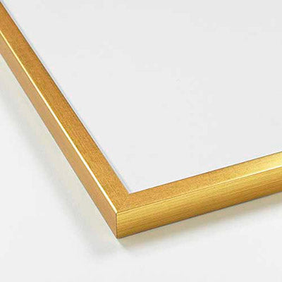 Gold wood frame 21x30cm / 8x12in