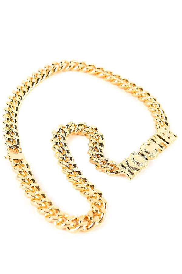 CHAIN NECKLACE WITH KOCHÉ LOGO