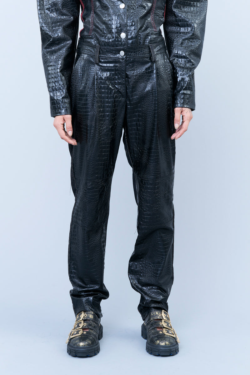 DOUBLE-FACE FIVE-POCKET TROUSERS