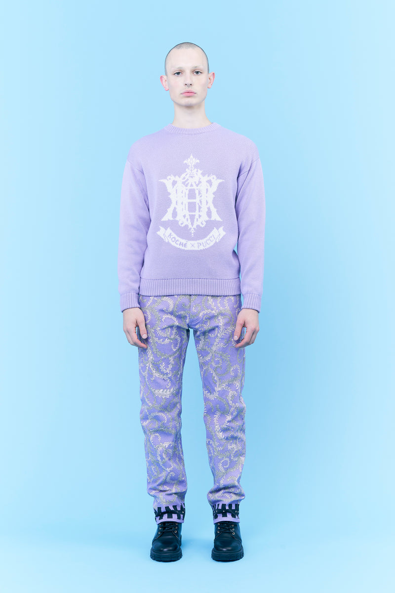 EPK MONOGRAM JACQUARD SWEATER