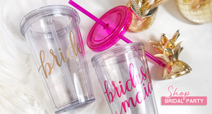 Bridesmaid gifts, personalized bride gifts, custom gifts for brides, bride tumbler with straw,  bride wedding gift, Bridesmaid gifts, personalized bridesmaid gifts, custom gifts for bridesmaids, bridesmaid tumbler, bridesmaid  wedding gift