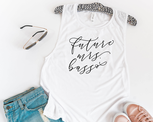 Personalized Future Mrs Muscle Tank - Details Matter Studio