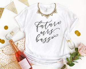 Personalized Future Mrs T-Shirt - Details Matter Studio