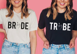 Bride Tribe Shirts for Bachelorette Party