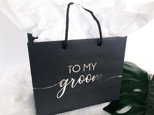 To My Groom Gift Bag