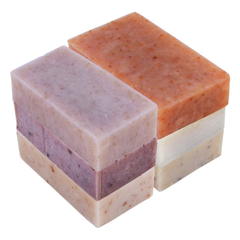 6 Piece Natural Bali Soap Bars & 6 Bath Bombs Gift Set