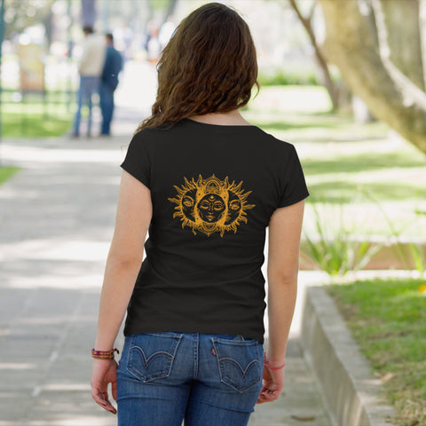 Image of Sun Moon Back Design