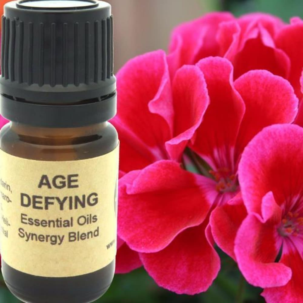 Age Defying Essential Oils Synergy Blend. - Wild Harvested Steam Distilled