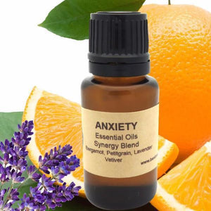 Anxiety Essential Oils Synergy Blend - Wild Harvested Steam Distilled