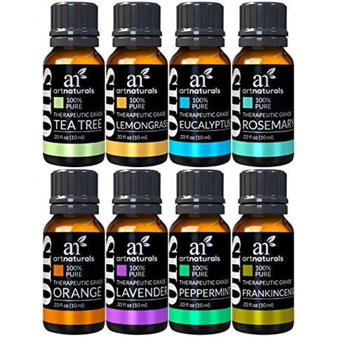 Image of ArtNaturals Therapeutic Grade Aromatherapy Essential Oil Gift Set