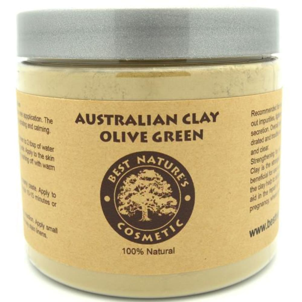 Australian Clay Olive Green - Pure Natural