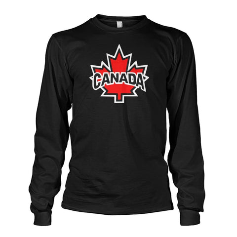 Canada Long Sleeve - Red / S / Unisex Long Sleeve - Long Sleeves
