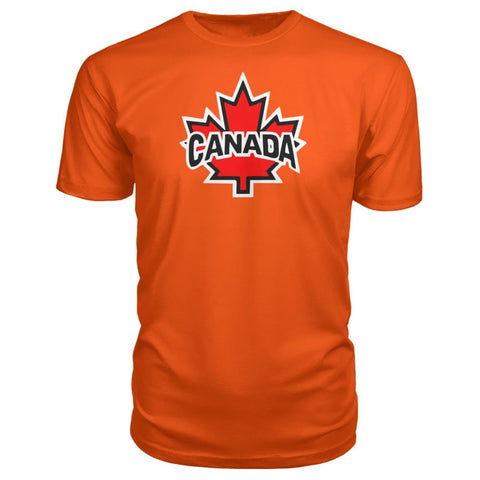 Canada Premium Tee - Orange / S / Premium Unisex Tee - Short Sleeves