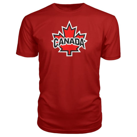Image of Canada Premium Tee - Red / S / Premium Unisex Tee - Short Sleeves