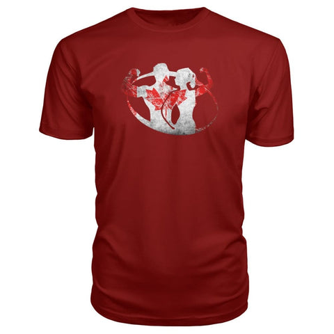 Image of Canada Strong Premium Tee - Independence Red / S / Premium Unisex Tee - Short Sleeves