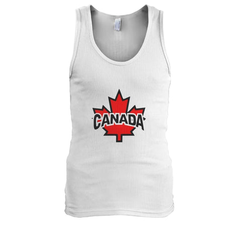 Canada Tank - White / S / Mens Tank Top - Tank Tops
