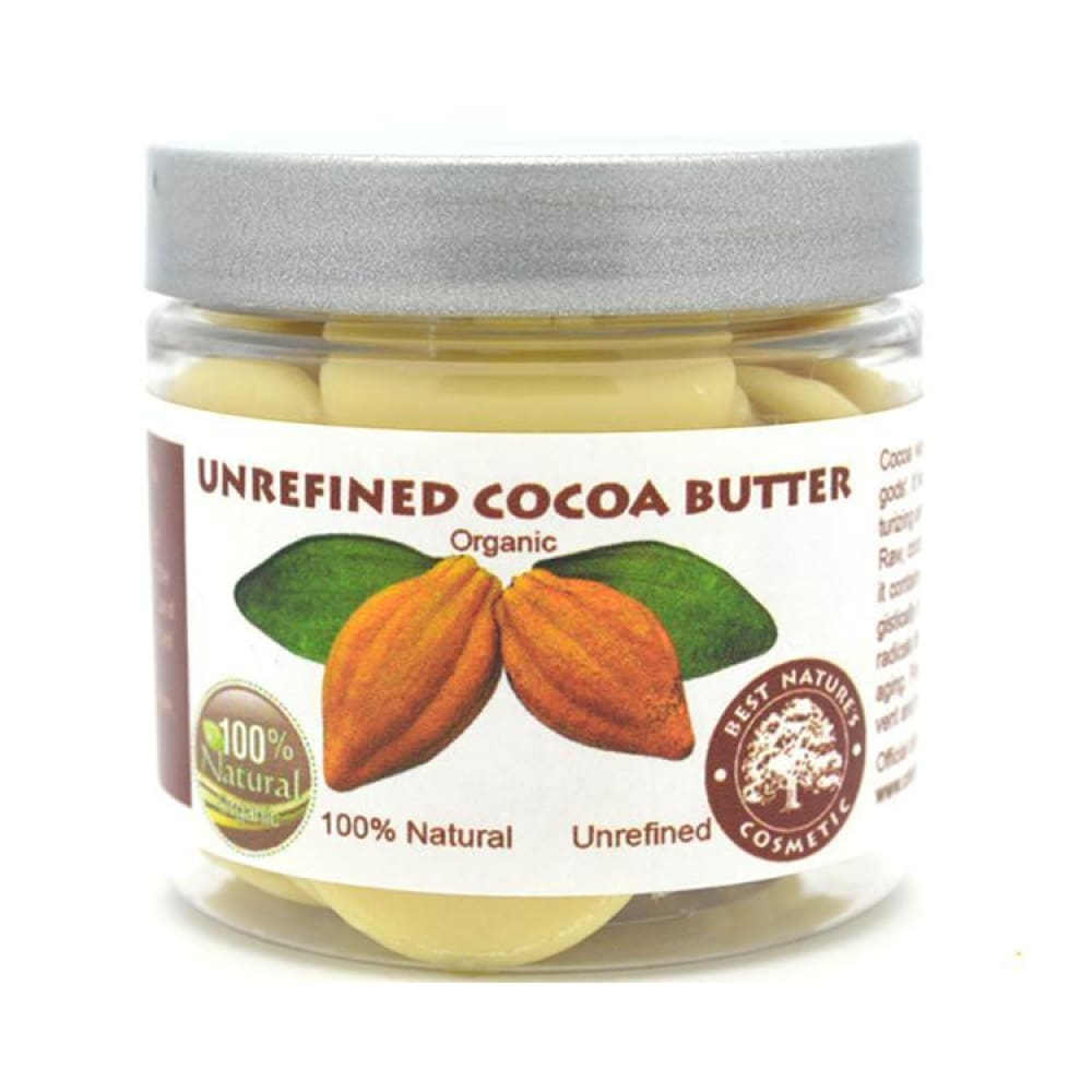 Cocoa Butter Organic Wafers Unrefined - Natural Organic