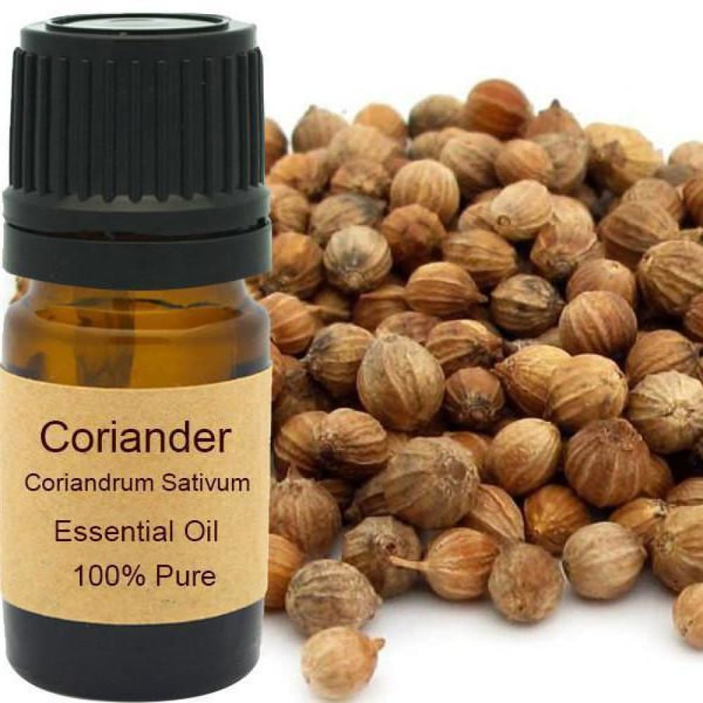 Coriander Essential Oi - Organic Steam Distilled