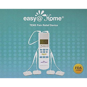Easy@Home EHE009 TENS Handheld Electronic Pulse Massager Unit, Health Canada, FDA and OTC approved Pain Relief therapy Device - a portable Muscle Stimulator for Electrotherapy Pain Management | Pain Relief on the Shoulder, Waist, Joint, Back, Arm, Leg