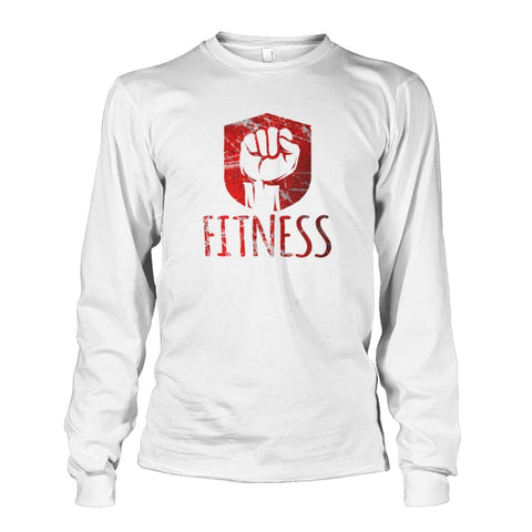 Fitness Long Sleeve - Safety Green / S / Unisex Long Sleeve - Long Sleeves