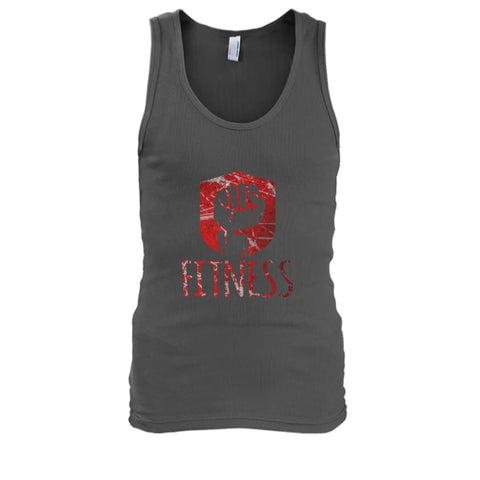 Image of Fitness Tank - Charcoal / S / Mens Tank Top - Tank Tops