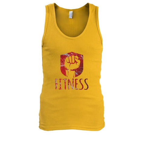 Image of Fitness Tank - Gold / S / Mens Tank Top - Tank Tops