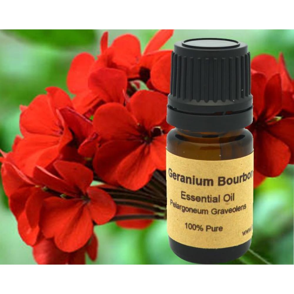 Geranium Essential Oil (Bourbon) - Conventional (Non GMO) Steam Distilled