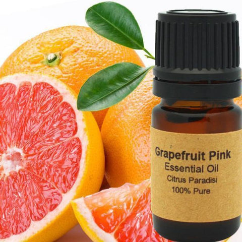 Grapefruit Essential Oil (Pink) - Conventional (Non GMO) Cold Pressed
